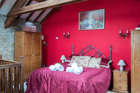 Boreat Manor Medieval Wing - B&B - Umberleigh - อพาร์ทเมนท์
