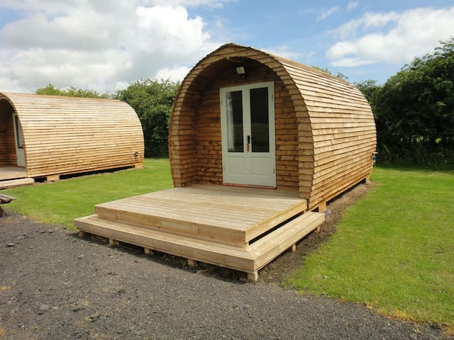 Luxury Glamping Pod - Otters Holt