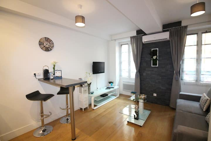 Lovely studio in the heart of Nice