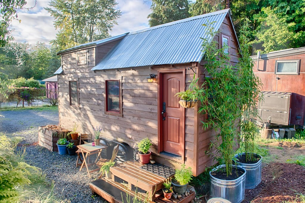 Enjoy your enchanted getaway, at The Tiny Tack House!