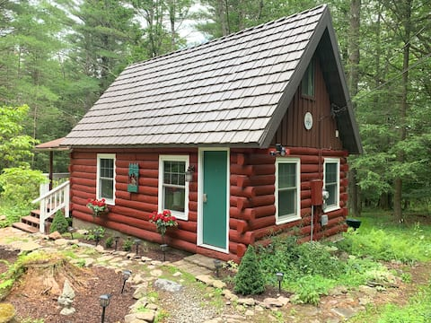 🌲Norwegian Log Cabin in the Poconos, Relaxation🌲