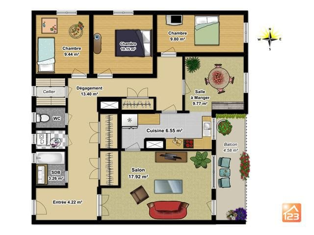 Appartement d'Alexandre