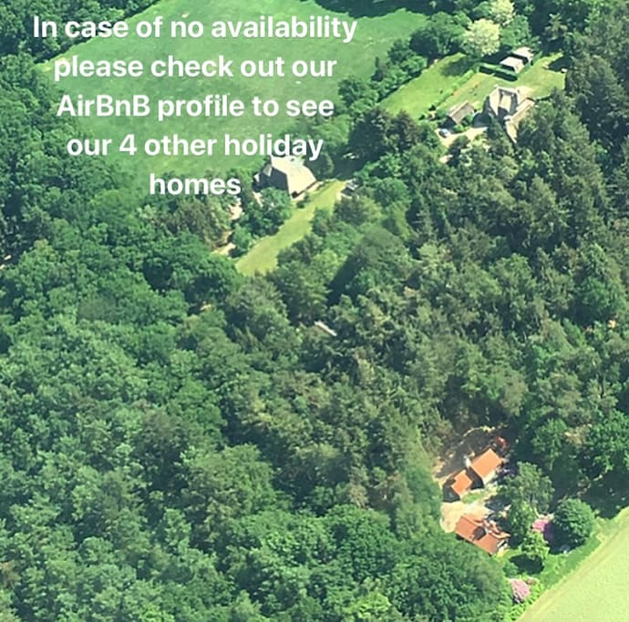 Our other holiday homes can accommodate between 2-4 guests.