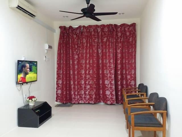 Homestay Fayyadhah Kuantan City 3 rooms, Aircond - Kuantan