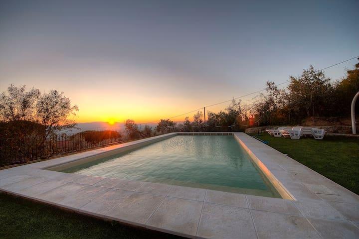 Villa Rifugio al Sole Reggello - เรกเกลโล - อพาร์ทเมนท์