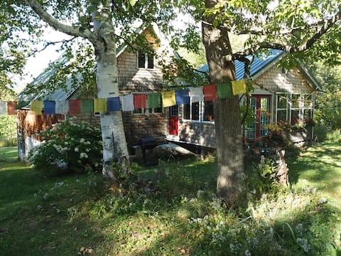 Mtn view, solar, peace & quiet, piano, yoga studio