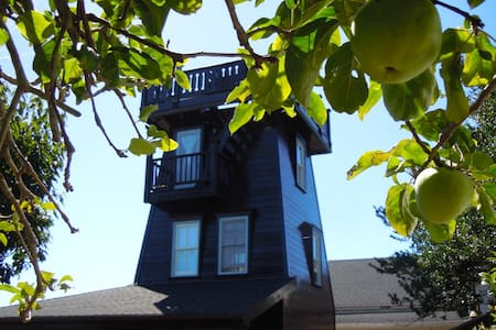 Historic District Water Tower - Mendocino - Lighthouse