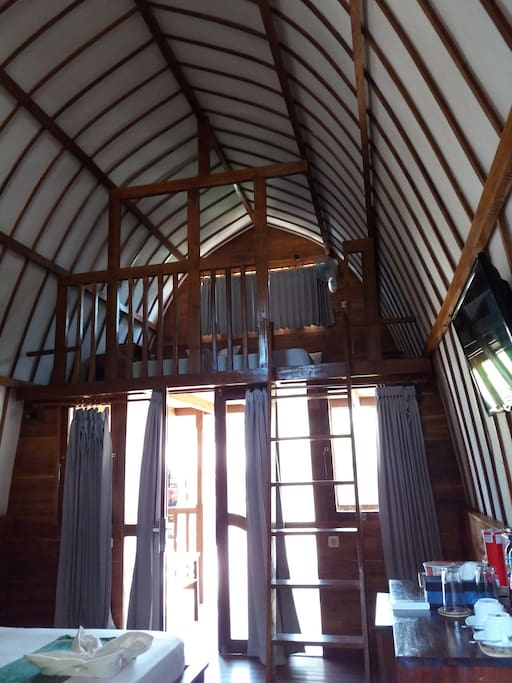 Inside Grand Deluxe Family Bungalow Mezzanine Floor