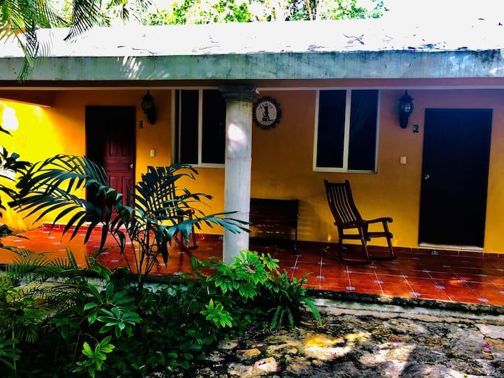 Cabaña Itzamaltún 1 para 6 personas