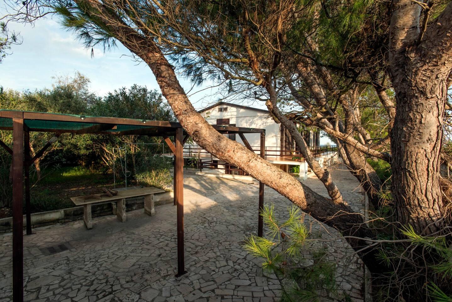 appartamento in villa sul mare - apartments for rent in porto ... - Piccolo Divano Letto Matrimoniale Di Pertinenza