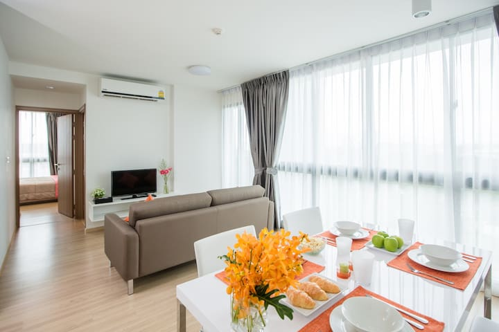 New Room Family Connecting 2 Bedroom 67 SQM.