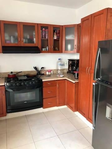 Habitación en coto Nueva Galicia