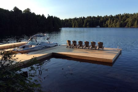 Lake Joseph cottage with the conveniences of home - MacTier