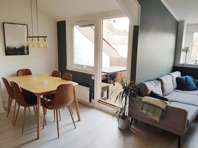 Unique loft apartment in idyllic Grünerløkka