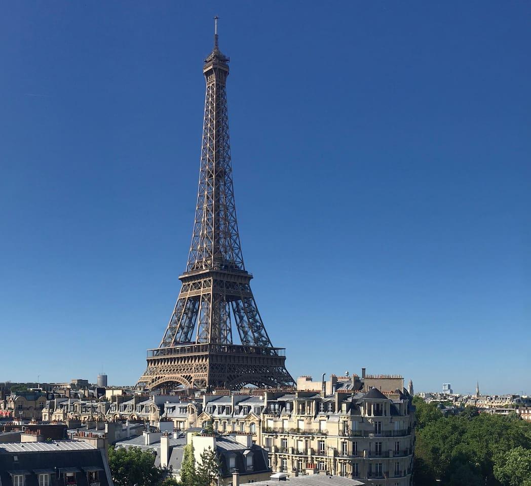 EIFFEL TOWER FANTASTIC VIEW