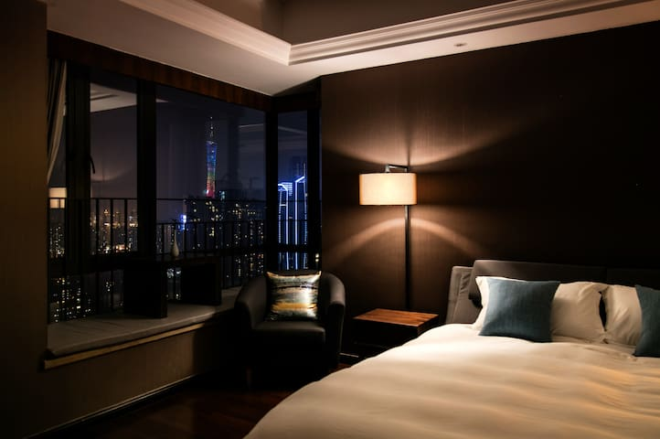 CBD/Luxury House/Canton Fair/Business travel - Guangzhou - Condominium