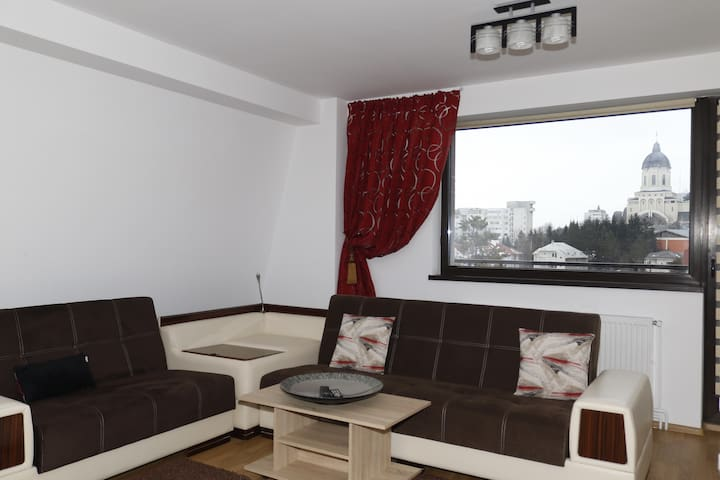 Charming central apartment with a great view - Bacău - Apartmen