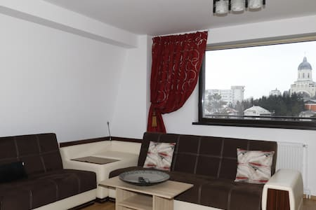 Charming central apartment with a great view - Bacău - Byt