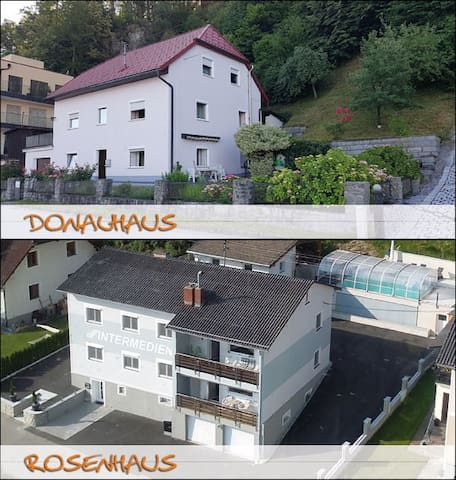 2 houses, 300 sqm, 30 guests