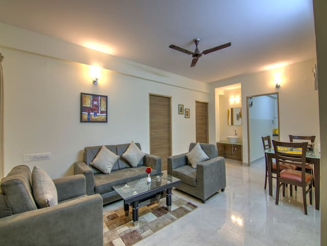 2BHK Luxury Apartment with Kitchen facilities