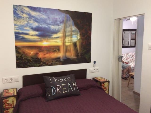 """Kitsch apartment""in the capital,easy parking free - Las Palmas de Gran Canaria - Apartment"