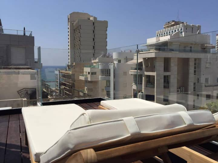 Luxury apartment Tel Aviv Gordon Beach Ha Yarkon