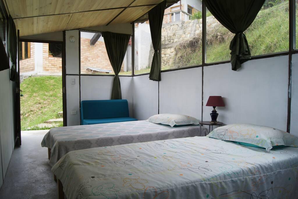 Luna Cabin bedroom