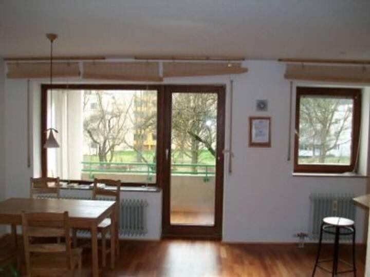 zentrale 2-Raum-Wohnung
