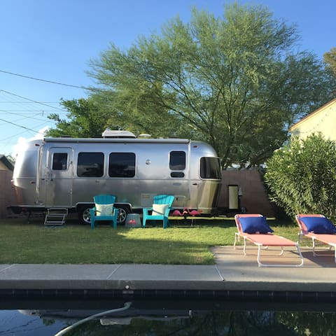 2017 Airstream + yard &  pool