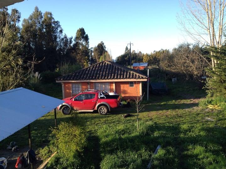 CASA DE  CAMPO TÍPICA CHILENA