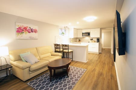 Spacious 2 bedroom Apt near Downtown/CHEO/GENERAL