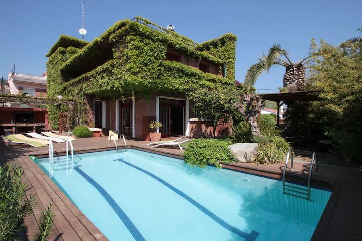 Casa verde-Relax y tranquilidad cerca del mar - Castelldefels - House