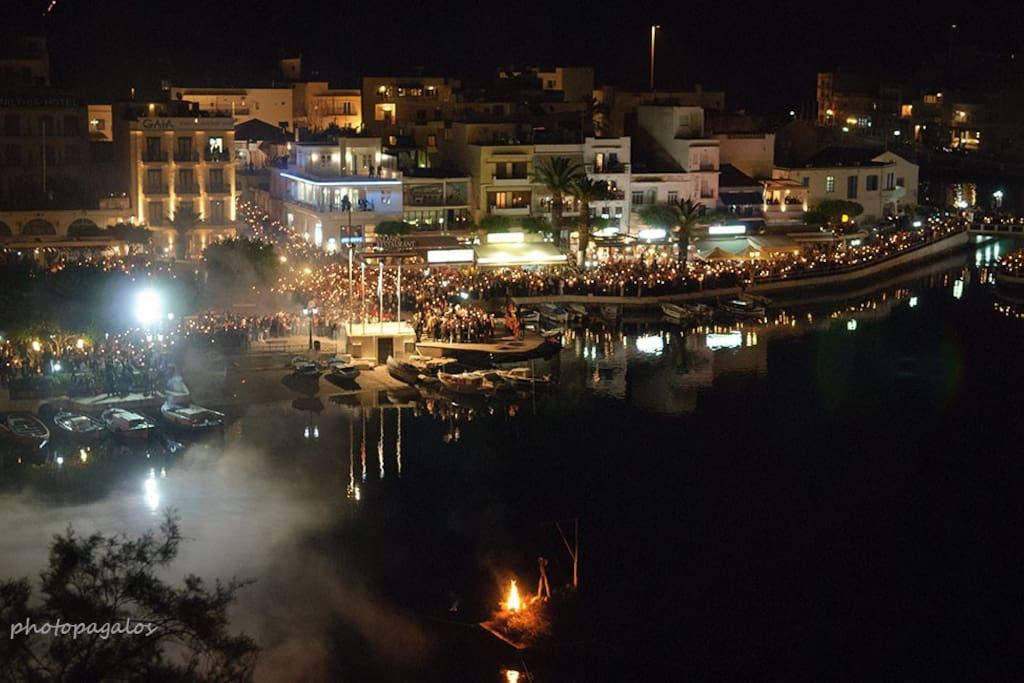 Easter time in Agios Nikolaos!