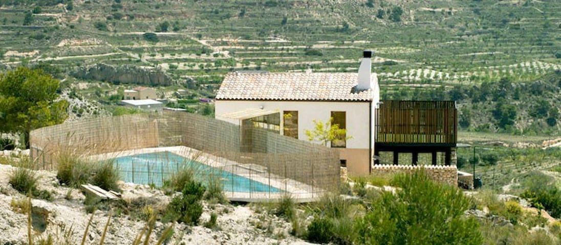 Bonita Casa Rural en plena montaña - Fortuna - Haus