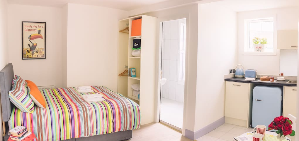 Budget Accommodation Dublin Ireland (Studio 2) - Rathmines - Appartement