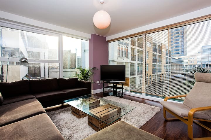 Stunning 4-Bed Flat London Fields Hackney Central - London - Apartment