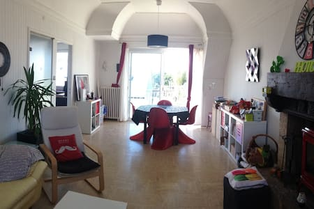 AppartT5/ jardin aux portes des fêtes Brest 2016 - Plougastel-Daoulas - Apartmen