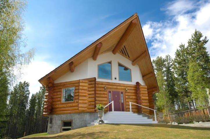 The Log House on Grove Street