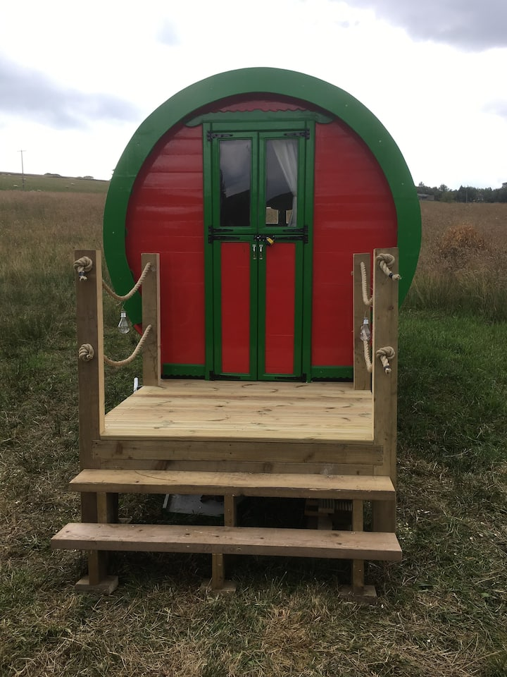DanLea moor offers glamping but with a difference