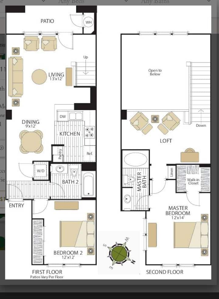 Luxury Condo in Redwood City 1b-1b
