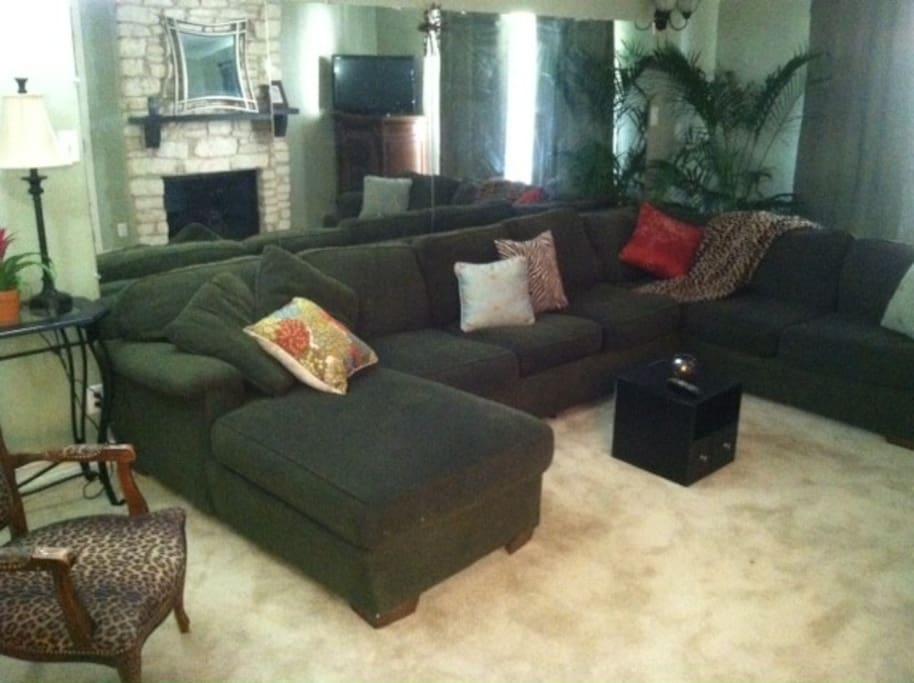 Timber Ridge living room
