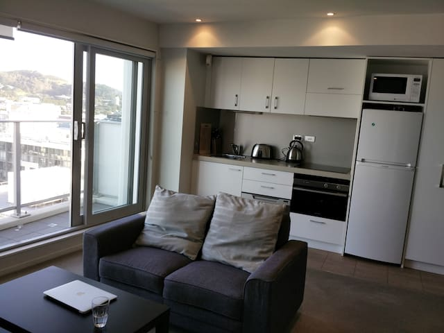 City CBD Mordern Room - Best Location - Wellington - Daire