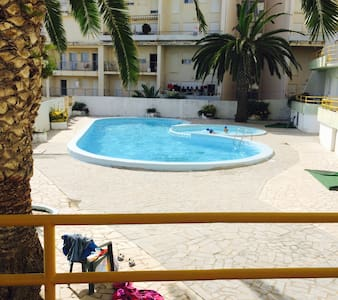 Apartment 5* with swimming pool 50m from the beach - Figueira da Foz