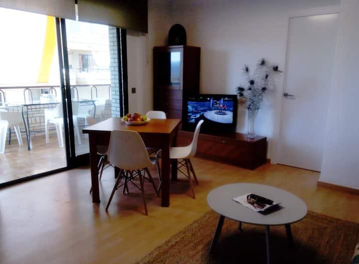 Apartamento a primera linea de playa Morro de Gos