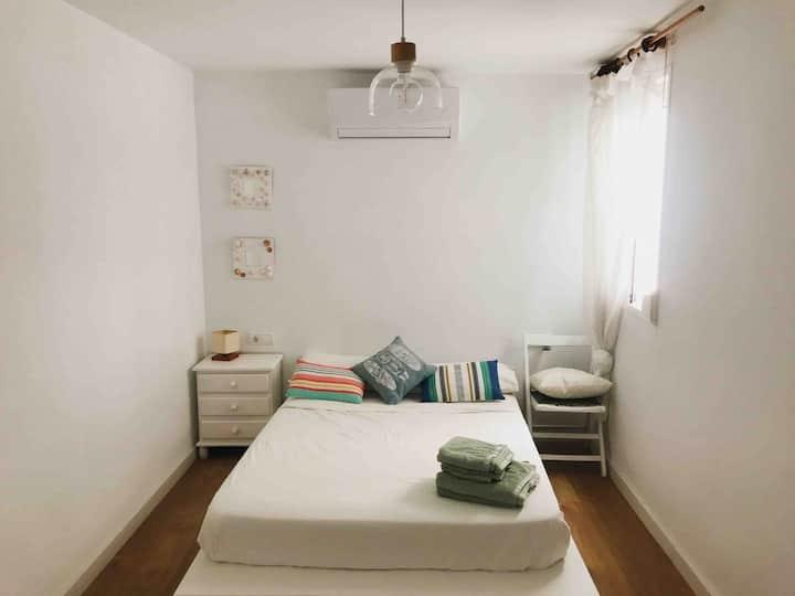 Habitación independiente con vistas en Les Cases