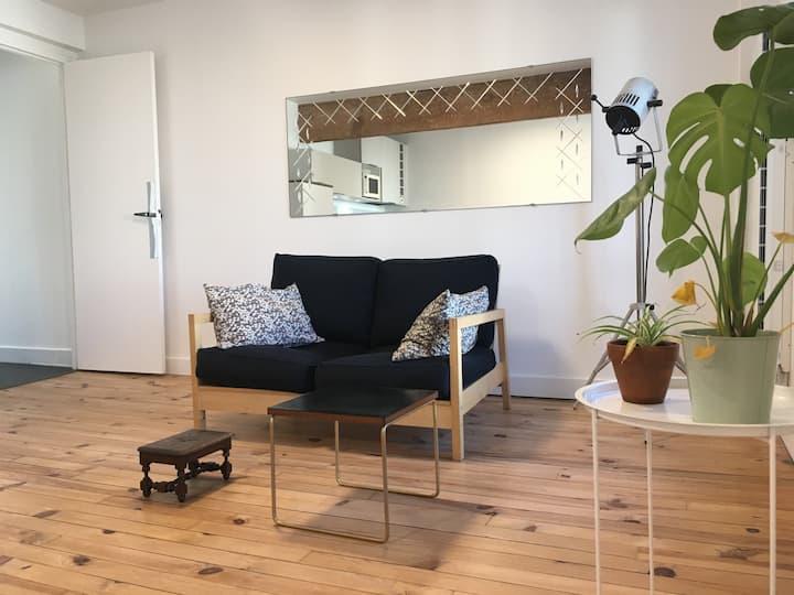 Au calme, appartement cosy près du Parc Bordelais.