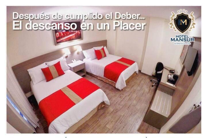 Habitacion Familiar -Hotel Mansur