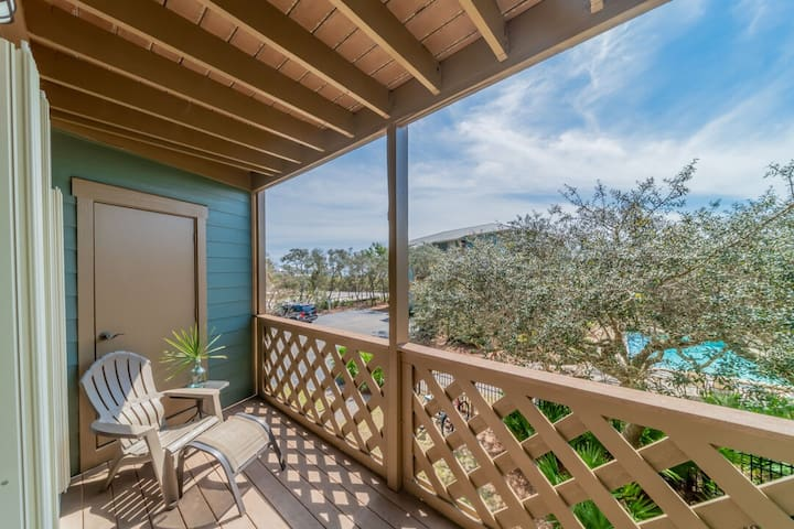 Paradise30A~Inlet Dunes 205, 1 Bedroom, Steps to the Beach, Community Pool