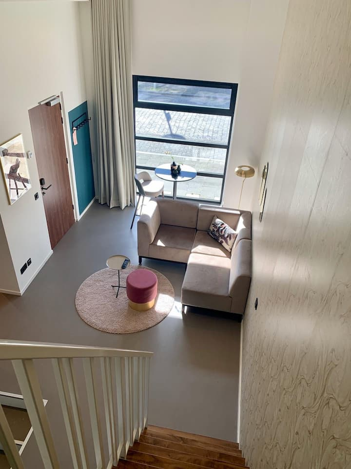 Fijn modern driepersoons appartement Utrecht West