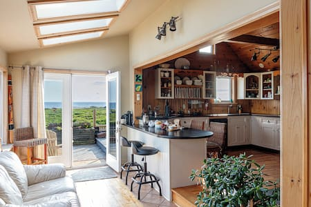 Oceanfront, post and beam home